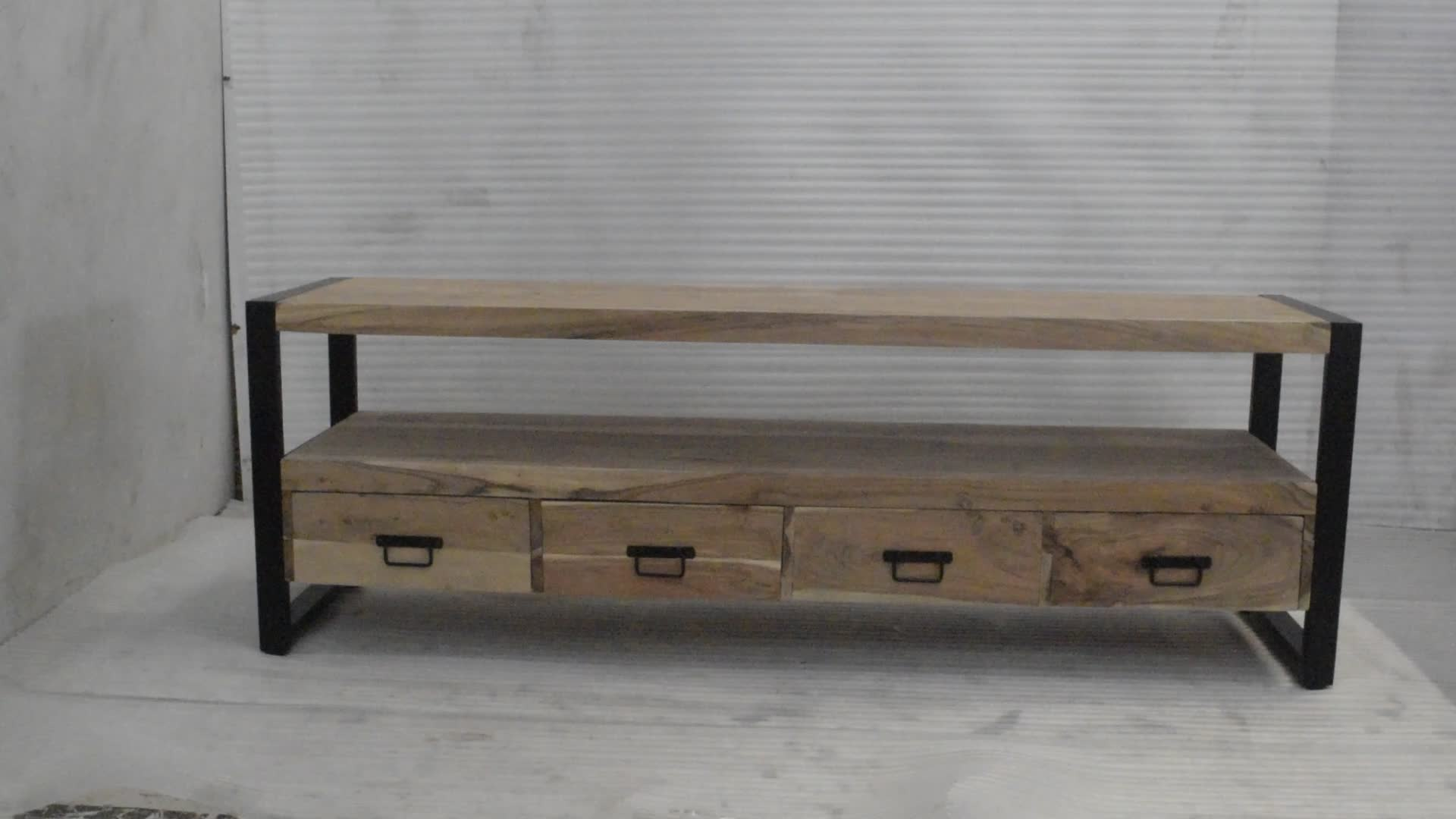 Solid Wood Industrial Furniture: You Can Sleep With Luxury And Style