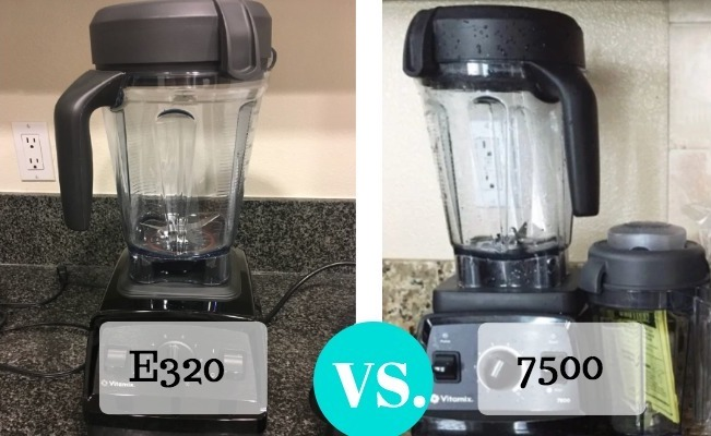 Difference Between Vitamix E320 Vs 7500