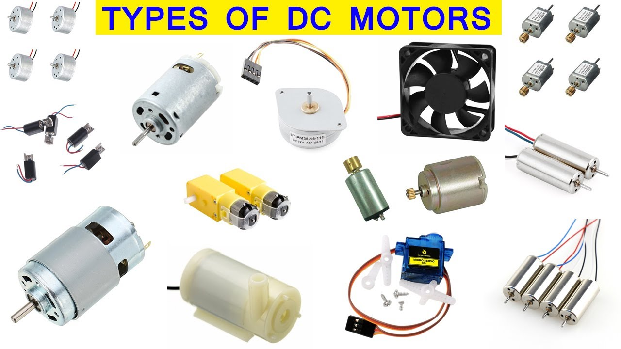 Different Types of DC Motor For Different Purposes
