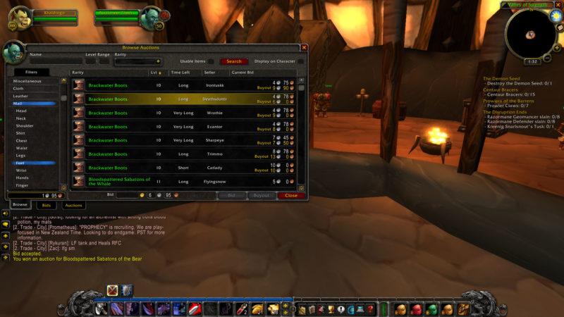 Buy World of Warcraft Items